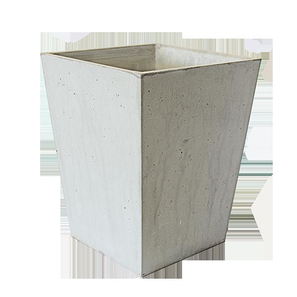 Jardinière ARAVIS – en béton, 30x30cm de base, 51 Litres