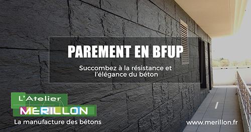 plaque de parement beton