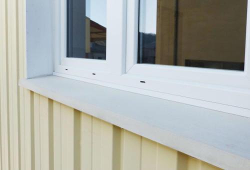 Appui de fenêtre isolé en BFUP - La Manufacture des Bétons