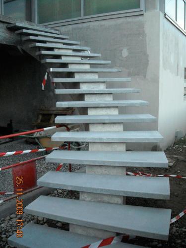 escalier en béton design - La Manufacture des Bétons
