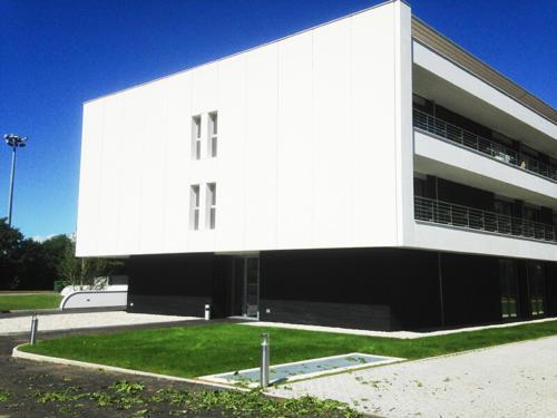 facade béton fibré - La Manufacture des Bétons