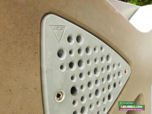 Hôtel insectes - La Manufacture des Bétons