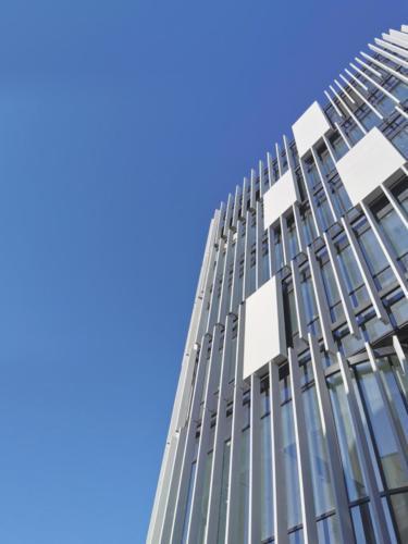 Jardins de la Chasse - La Manufacture des Bétons Facade béton architectonique