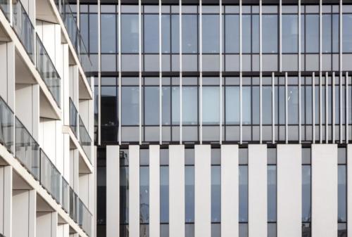 Jardins de la Chasse- La Manufacture des BétonsFacade béton architectonique